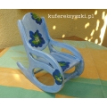 fotel bujany dla lalek A rocking chair for dolls