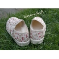 lniane buty Linen Shoes